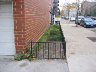 M-0728 - Wrought Iron Fence
