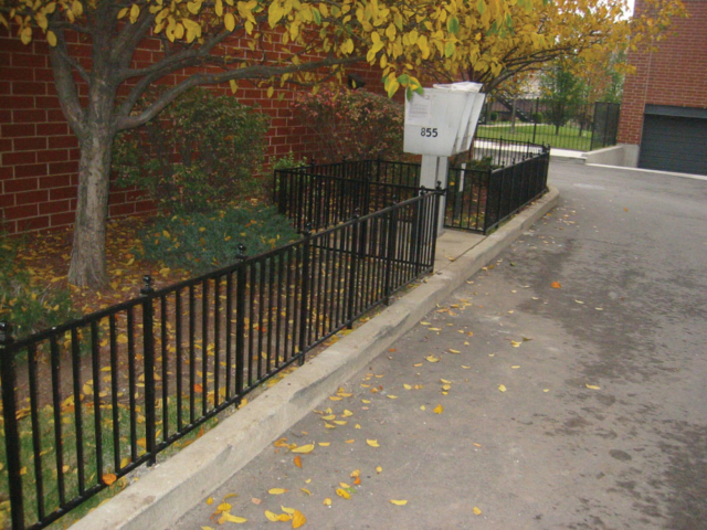 M-0713 - Wrought Iron Fence