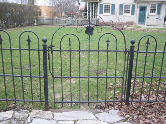 M-0708 - Wrought Iron Fence