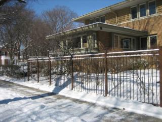 M-0702 - Wrought Iron Fence